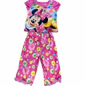Minnie Mouse baby girl pajamas
